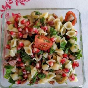 Солено-слатка салата со калинка