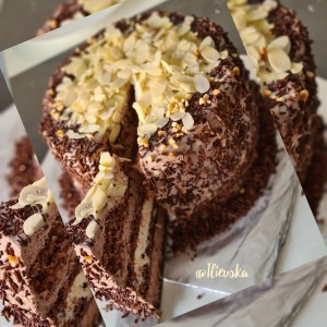 Интерконтинентал торта со бело чоколадо