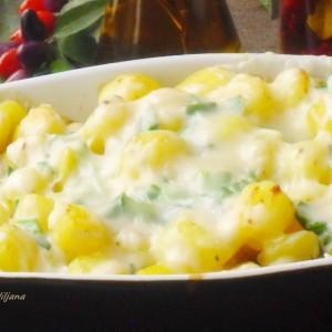 Печен кремаст компир