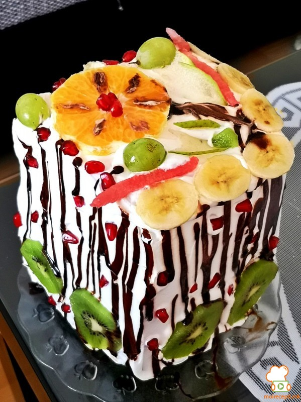 Торта од лубеница (декорација)