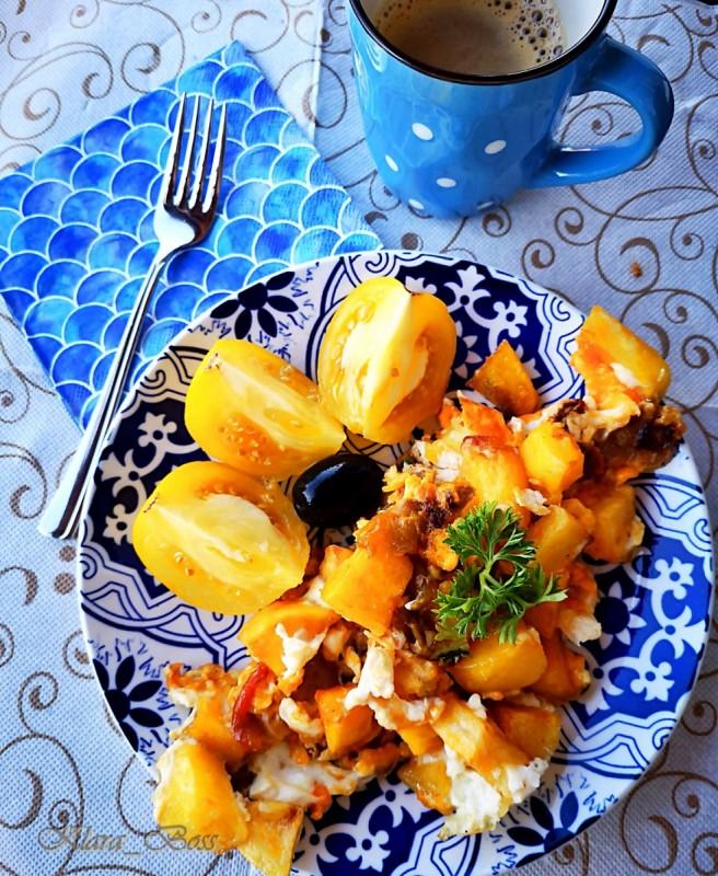 Шпански омлет без кромид