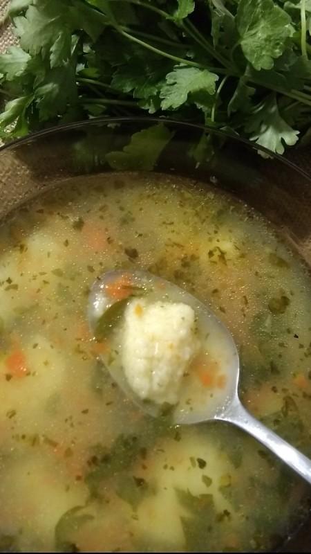 Домашни Кнедли за супа