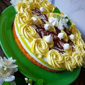 Торта со лимон