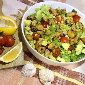 Морнарска салата - салата со школки