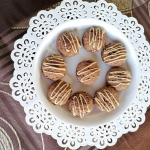 Чоко банана суви кекси