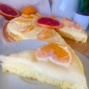 Едноставен колач со лимон,цитрон и мандарина