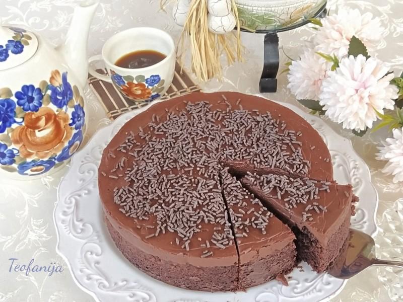 Чоко-оранж торта