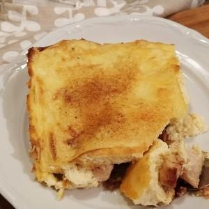 Пилешко со сланина и павлака за готвење