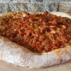 Пита/пица со мелено месо
