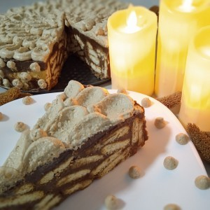 Чоко-Бисквит Торта (без печење) (100-ти Јубилеен рецепт)