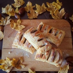 Штрудли со лиснато тесто