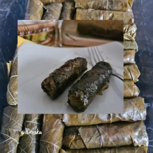 Турска сарма со лозов лист (без пржење на месото)