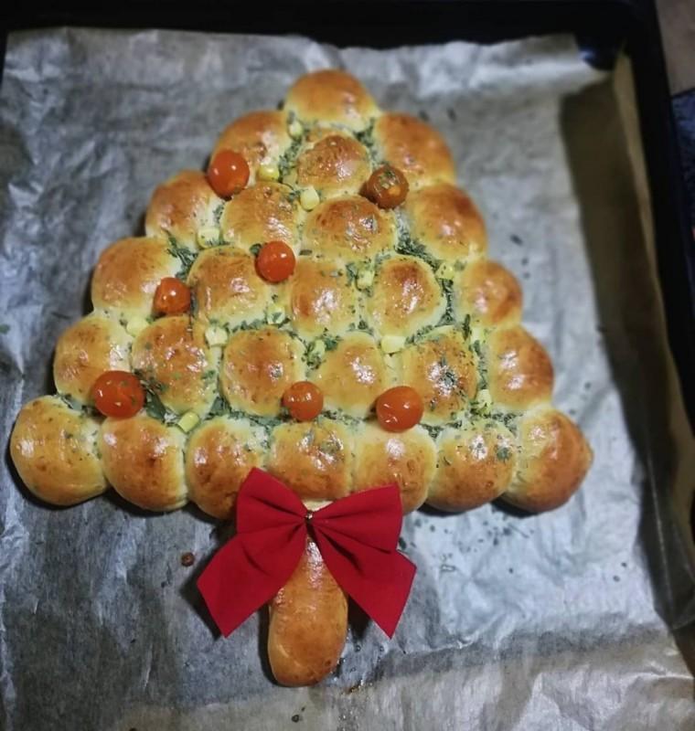Солена новогодишна елка (јубилеен 100ти рецепт)