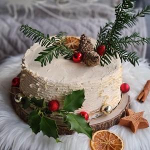 Торта Снежна идила (посно)(јубилеен 800ти рецепт)
