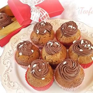 Чоколадни мафини со ганаж