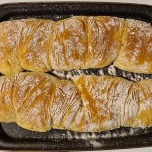 Лесен чијабата леб без месење