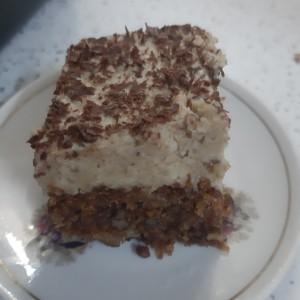Торта со фил од портокали (посно)
