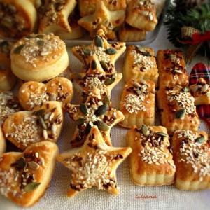 Крекери-грицки со свежо сирење