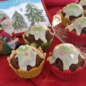 Снежни чоколадни мафини
