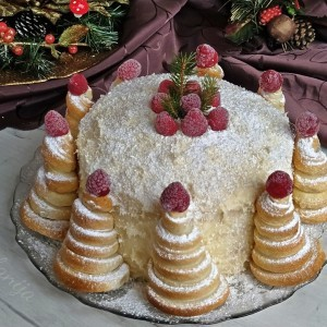 Торта Снежна шума