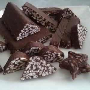 Домашно Чоколадо со оризови снегулки