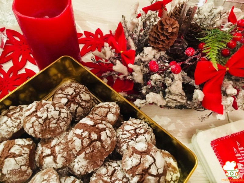 Чоколадни распукани колачиња