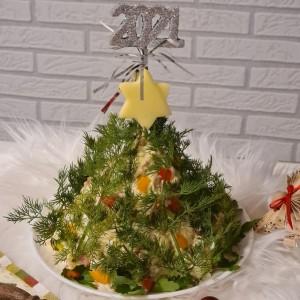 Мајонезна салата (празнична декорација)