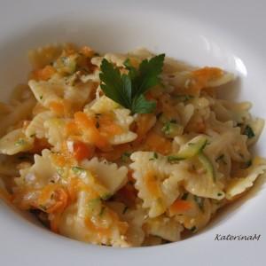 Паста со зеленчук и ореви(посно, без масло)