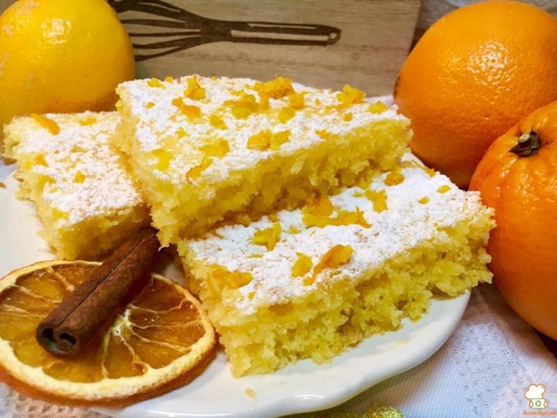 Колач со лимон и портокал