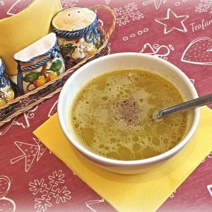 Пикантна супа со праз