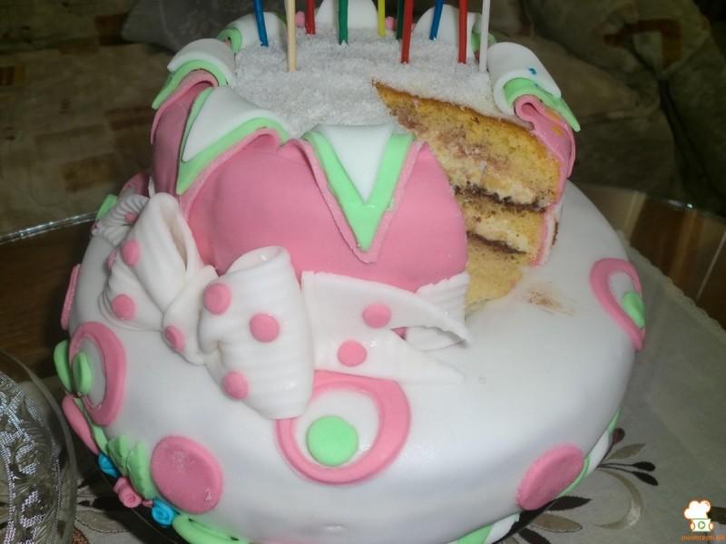 Роденденска торта со многу филови