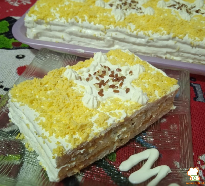 Солена Торта со Крекери