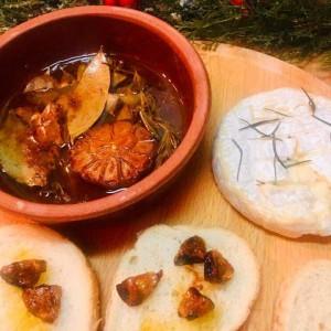 Предјадење од камембер со лук