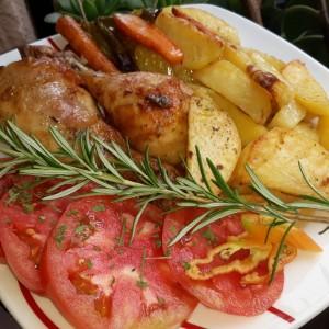 Маринирани потпечени копани со компири