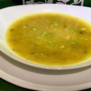 Пилешка супа со праз