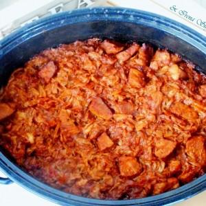 Подварок со свинско месо во рерна