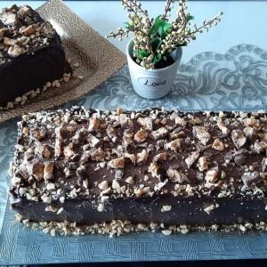 Сникерс торта - јубилеен 500-ти рецепт
