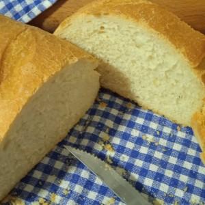 Домашен Леб(печен во ќесе за печење)