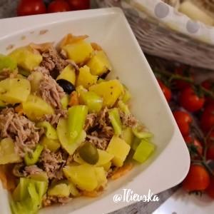 Мешана компир салата ( посно )