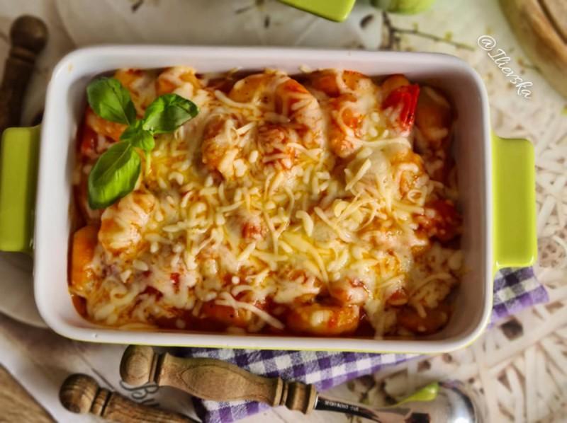 Њоки во шери сос(Parmigiano Gnocchi di patate)