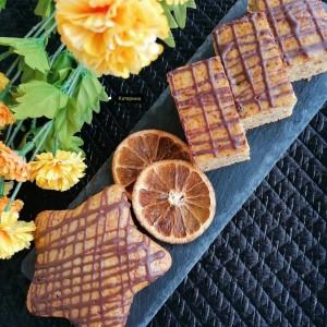 Посен десерт со газоза, орев и слатко од дуњи