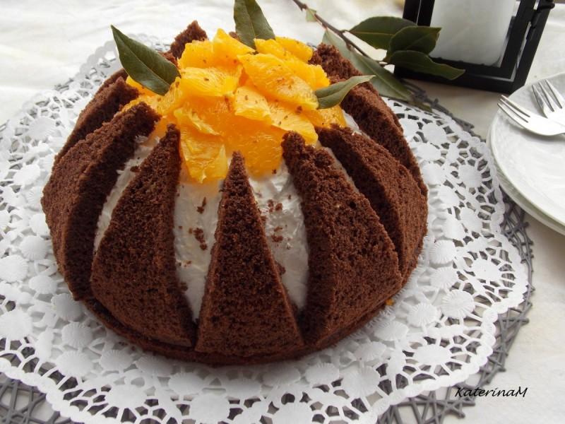 Вулкан семифредо торта (јубилеен 500-ти рецепт)