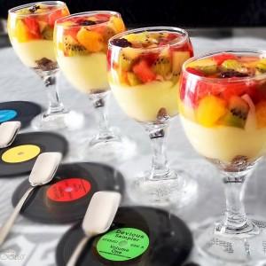 Пудинг со желирано овошје