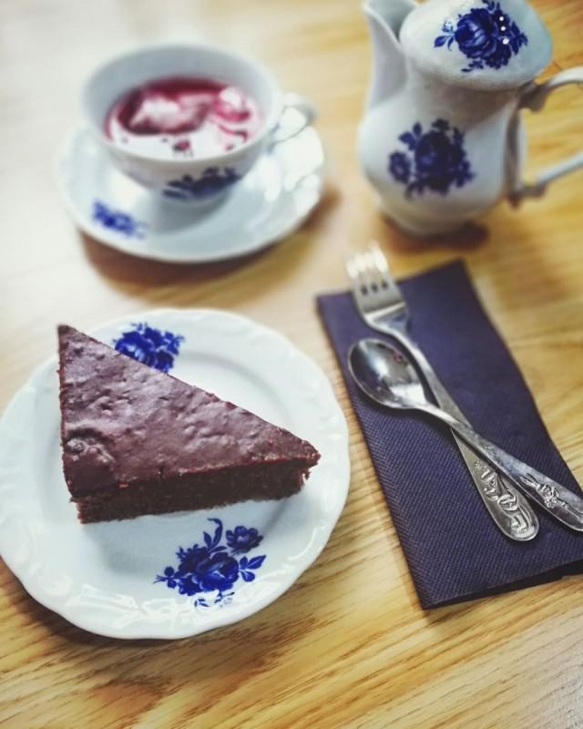 Торта со кафе