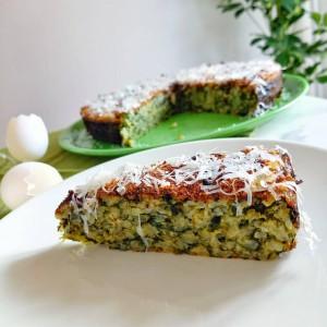 Зелена, солена италијанска торта