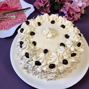 Спирална торта со кафе