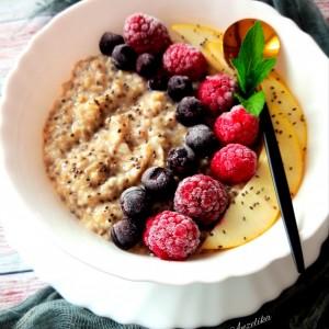 Здрав појадок од овесни снегулки