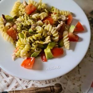 Песто паста со зеленчук