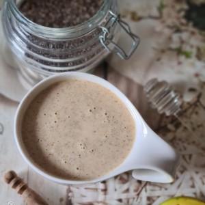 Кремасто смути со бадем млеко