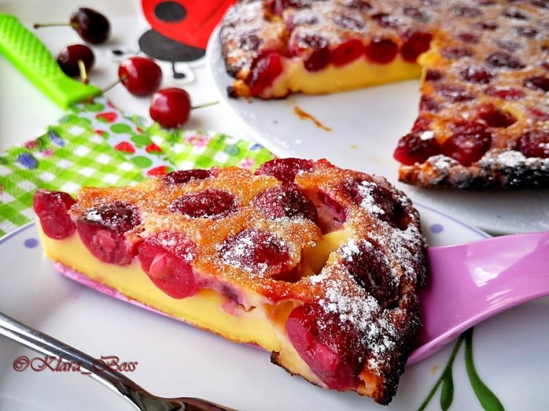 Клафоти  (Cherry Clafoutis)